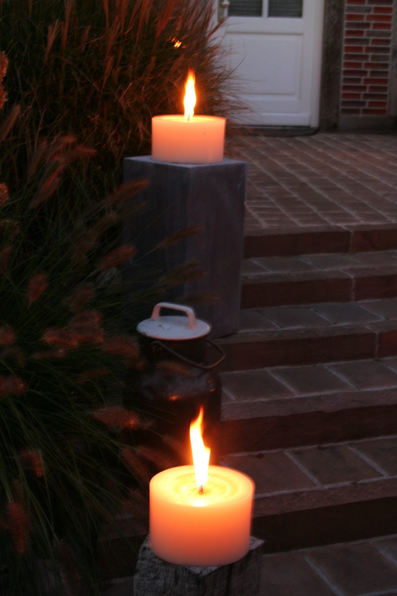 Polarlichter - Kerzen, Outdoorkerze, Kerzen