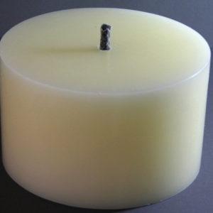 Outdoor Kerze creme, Durchmesser 19,4 cm
