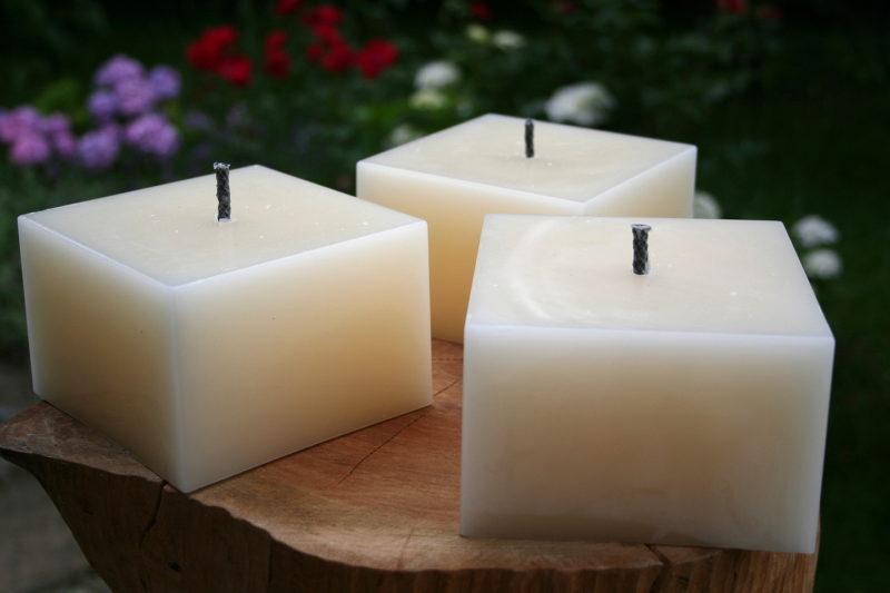 Polarlichter - Kerzen, Kerze für draussen