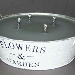 Brennschale,-D-=-24-cm,-H-=-8-cm,-Flowers-&-Garden
